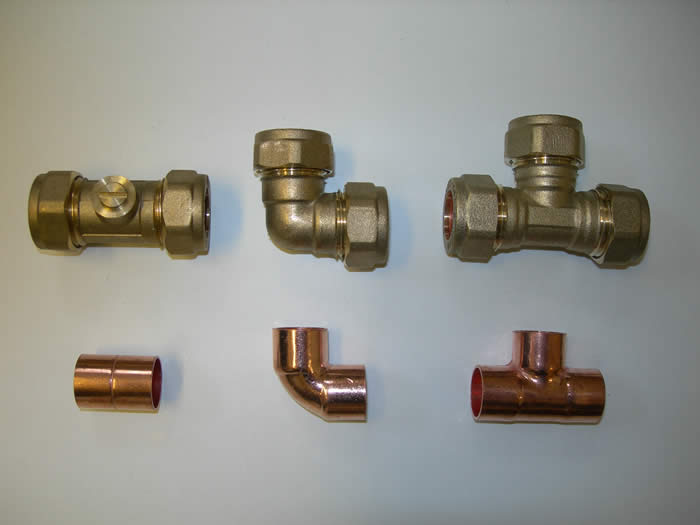 Compression and Endfeed fittings  Image
